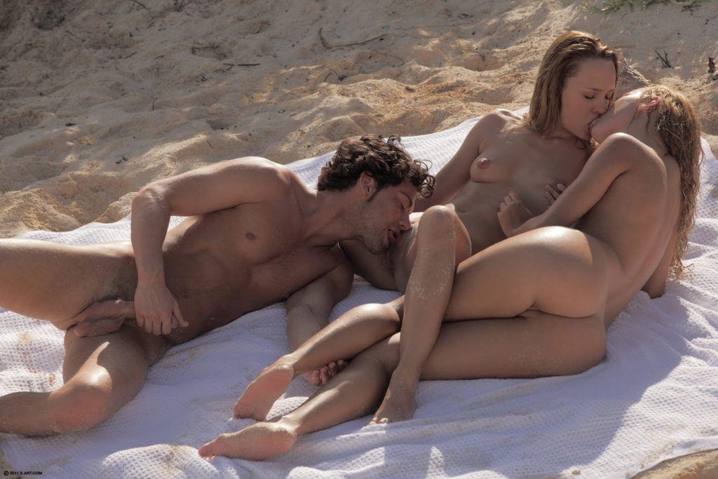 Nada melhor que um sexo na praia