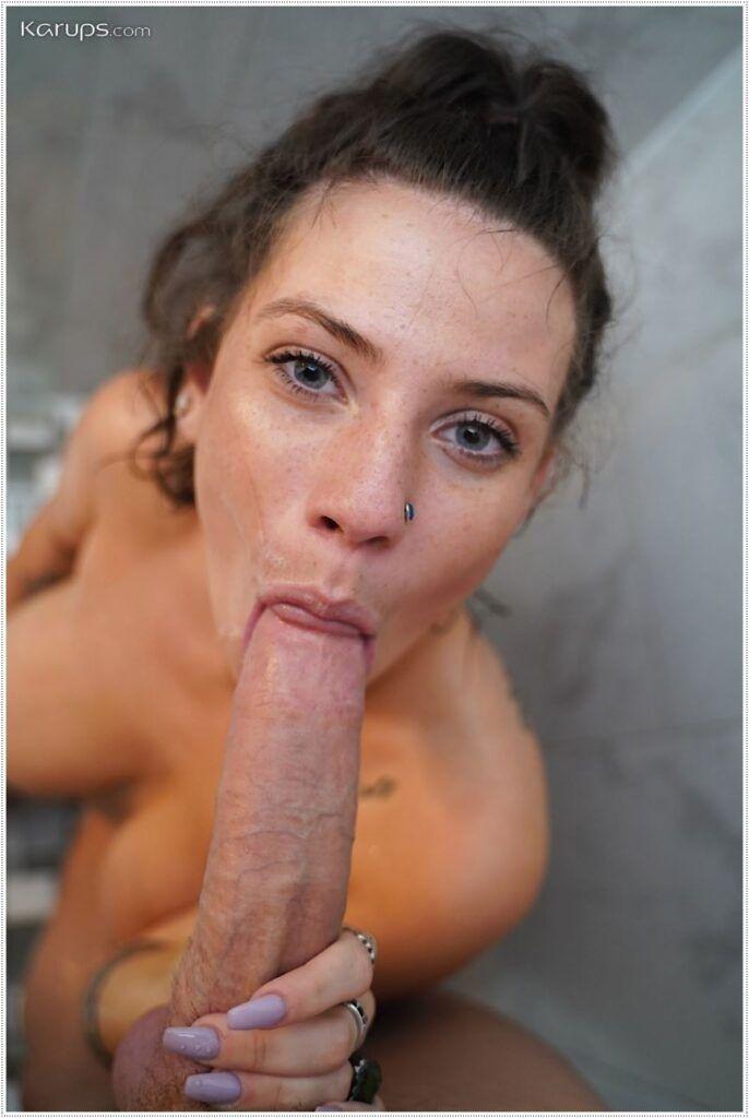 Fotos de boquetes e sexo oral de mulheres nuas
