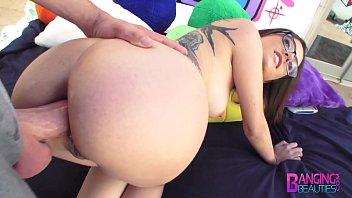 Fotos sexo anal com magrinha loira dando a bundinha